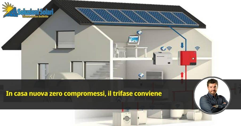 auto elettrica pompa di calore termopompa professionale ventilazione meccanica controllata riscaldamento elettrico raffrescamento automatico La casa del futuro è in trifase