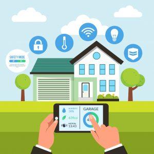 La casa ecologica intelligente si controlla e si comanda dallo smartphone e in qualunque istante ti permette di interagire per soddisfare i tuoi desideri e monitorare h24 la tua abitazione