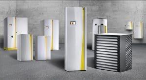 Le termopompa europee hanno dimensioni e pesi importanti, per garantire la funzionalità del riscaldamento anche quando fuori fa freddo