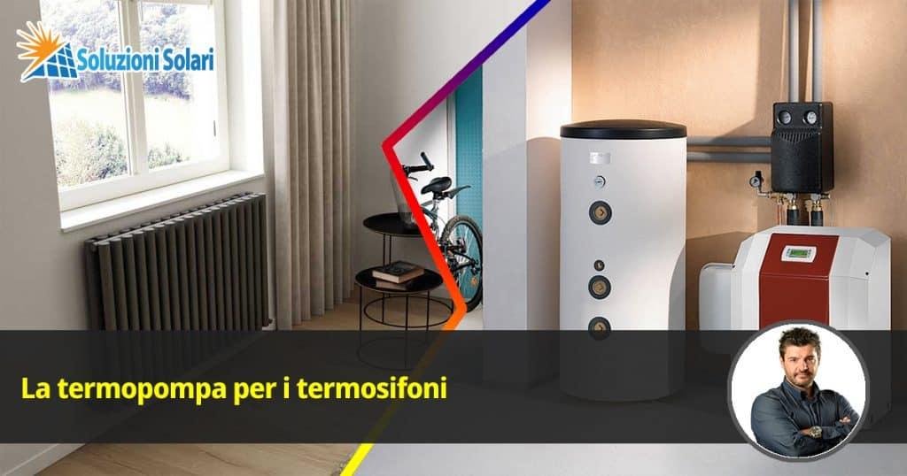 La pompa di calore aria acqua per termosifoni