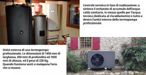 pompa di calore aria acqua per termosifoni