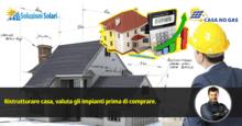 Ristrutturare casa, valuta gli impianti prima di comprare